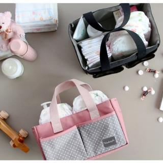 【E.City】手提大容量多功能收納包媽咪包包中包(可當媽咪包、包中包)