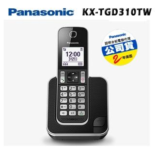 【Panasonic 國際牌】KX-TGD310 TW DECT中文數位無線電話
