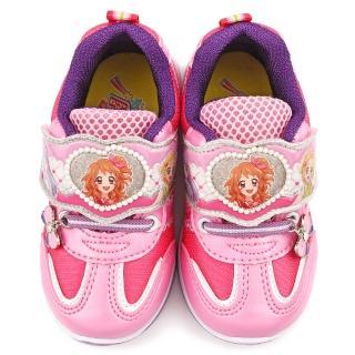 【童鞋城堡】透氣輕量運動跑鞋 偶像學園(ID5204-粉)