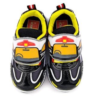 【童鞋城堡】Tomica多美汽車 中童 汽車造型運動跑鞋(TM6904-黑)