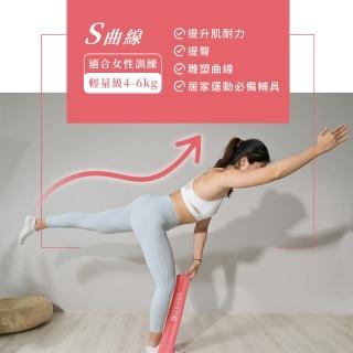 【Ushas】環狀訓練彈力圈3-5kg 拉筋 運動 健身 美體 瘦腿 瘦小腹 瑜珈(彈力帶)