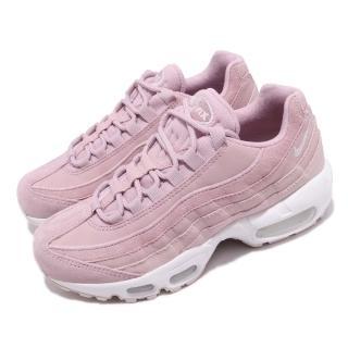 【NIKE 耐吉】休閒鞋 Air Max 95 PRM 女鞋 運動 復古球鞋 小粉鞋 穿搭 粉 裸色(807443-503)