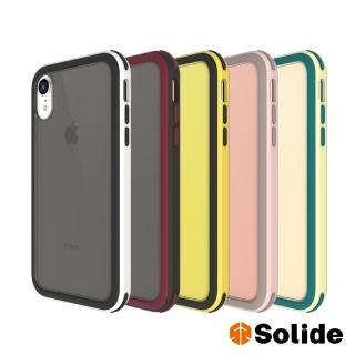 【SOLiDE】維納斯EX iPhone XR 玩色軍規防摔手機殼(iPhone XR)
