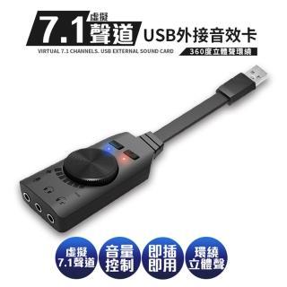 【PLEXTONE】虛擬7.1聲道USB外接音效卡P71(電競必備)