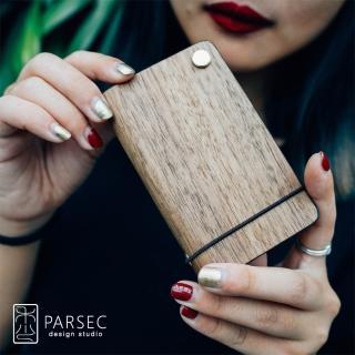 【PARSEC】樹革胡桃旋轉卡套