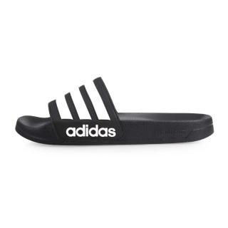 【adidas 愛迪達】ADILETTE SHOWER 男女運動拖鞋-海灘 愛迪達(AQ1701)