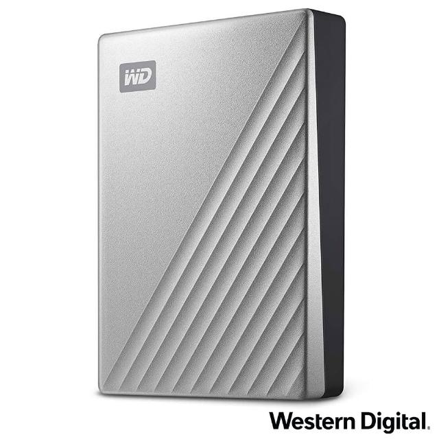 【WD 威騰】My Passport Ultra for Mac 4TB 2.5吋USB-C行動硬碟