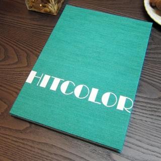 【Conifer 綠的事務】HITCOLOR-撞色 16K橫線速記本(筆記本 手札 手帳 日誌)