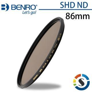 【BENRO 百諾】圓形減光鏡 SHD ND 64/128/256/500/1000-86mm(勝興公司貨)