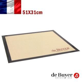 【de Buyer 畢耶】標準款不沾矽膠烘焙墊-GN1/1適用(51x31cm)