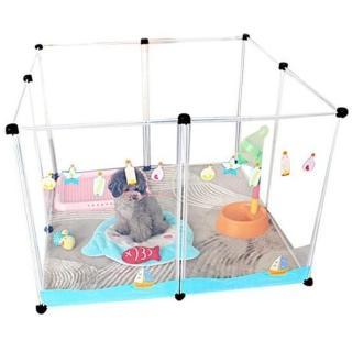 【寵物夢工廠】買一組送一組 / 寵物圍欄 8片一組 狗柵欄 寵物圍牆(狗籠 防護 鼠兔等小動物均可使用)
