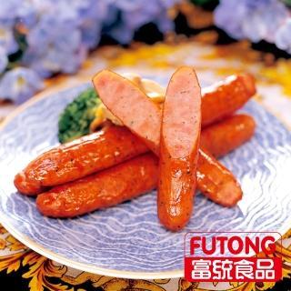 【富統食品】德國香腸20支/包-3包組(1kg/包 x3)