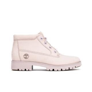 【Timberland】女款淺紫色磨砂革經典靴(A1X55S40)