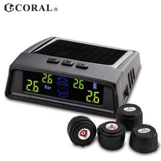 【CORAL/ODEL】太陽能外置式無線胎壓偵測器(TPMS-406DIY)