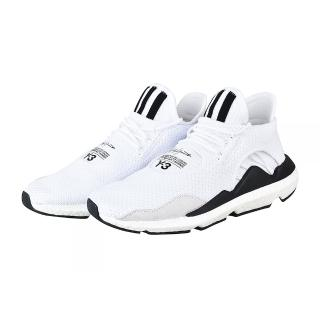 【Y-3山本耀司】adidas Y-3 SAIKOU 印花LOGO不織布運動鞋(白)