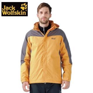 【Jack wolfskin 飛狼】Titan 防風防潑水保暖外套 男款(內刷毛)