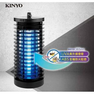 【KINYO】6W輕巧UVA紫外線燈管電擊式捕蚊燈(捕蚊燈)