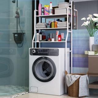 【JLM生活館】浴廁多功能落地收納架-洗衣機三層款式(浴室廚房、收納架、置物架)