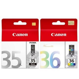 【Canon】PGI-35+CLI-36 原廠墨水組合(1黑1彩)