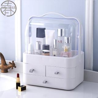 日式和風手提大化妝盒(收納盒 彩妝箱 化妝箱 化妝品收納)