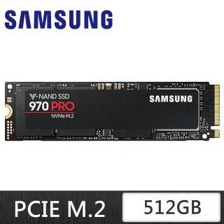 SAMSUNG 三星 970 PRO 512GB M.2 PCIe 固態硬碟 (5年保固) / MZ-V7P512BW 512G
