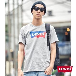【LEVIS】男款 短袖T恤 / 翻玩夏日Logo T / 撞色Logo