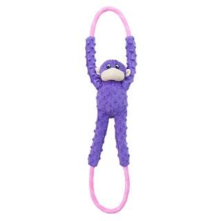 【ZippyPaws】一起拔河吧-超耐拉扯啾啾猴  有聲玩具(寵物玩具 有聲玩具)