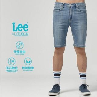 【Lee】Lee 牛仔短褲/DC(中藍)
