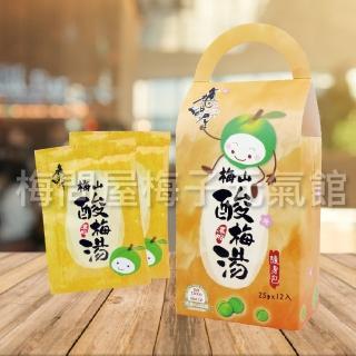 【梅問屋】梅山濃縮酸梅湯隨身包盒裝(300g/12包/盒)