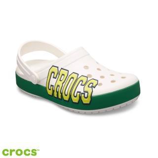 【Crocs】中性鞋 經典logo卡駱班(205568-10E)