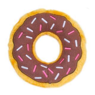 【ZippyPaws】美味啾關係-巧克力甜甜圈  有聲玩具(寵物玩具 有聲玩具)
