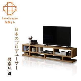 【Sato】LIKE LOWBOARD翌檜物語電視櫃-幅177cm(原木色)