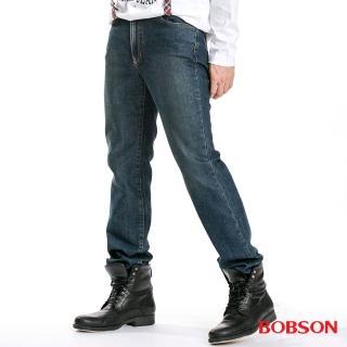 【BOBSON】男款低腰小直筒褲(1727-53)
