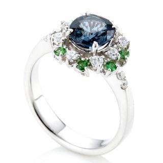 【DOLLY】無燒 1克拉尖晶石 14K金鑽戒