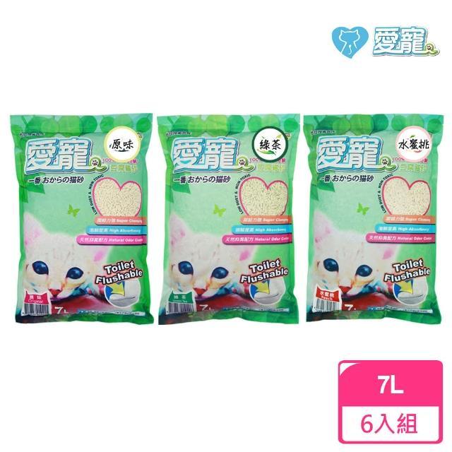 【愛寵】豆腐貓砂(六包入)