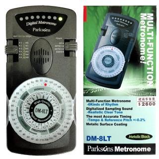 【PARKSON】DM 8LT節拍器-黑色(原廠公司貨)