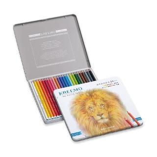 【KREEMO克里蒙 X SIMBALION雄獅】KMPC-936/24 克里蒙油性彩色鉛筆(24色組)