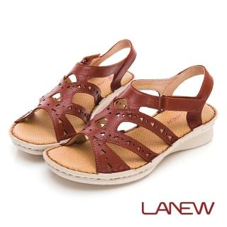 【La new】優纖淨系列 抑菌消臭 氣墊涼鞋(女50250601)