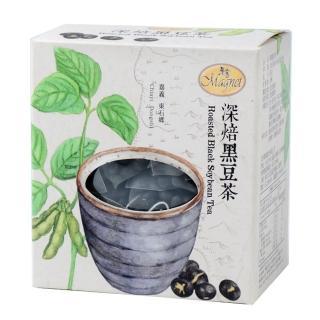 【曼寧】台灣深焙黑豆茶包8gx15入輕巧盒(台灣黑豆、營養高、黑豆茶)