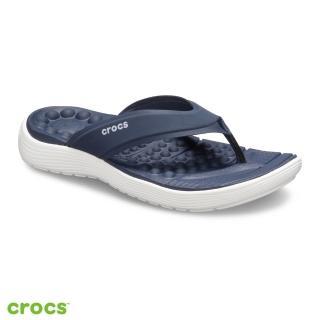 【Crocs】女鞋 Reviva 女士人字拖(205473-462)