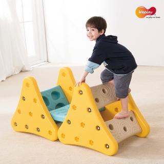 【Weplay】吉士山丘(幼齡孩子的第一個攀爬架)