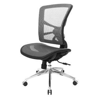 【吉加吉】GXG 短背全網 電腦椅 /鋁腳/無扶手(TW-81X7LUNH)