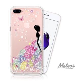 【EVO CASE】iPhone 7/8 Plus 奧地利彩鑽空壓防摔手機殼(花嫁)