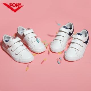 【PONY】TOP STAR時尚百搭魔鬼氈 小白鞋 休閒鞋 運動鞋 男鞋 女鞋 四色