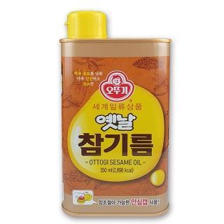 【韓國不倒翁OTTOGI】100%純芝麻油(350ml)