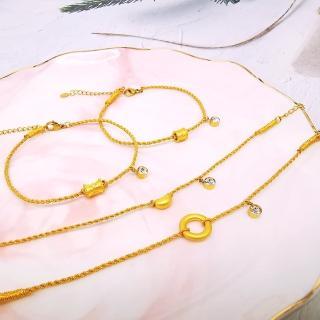 【A+】牛年一定賺 開運9999純黃金手鍊-0.05錢±2厘(22選1)