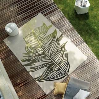 【山德力】ESPRIT home Lakeside系列地毯 ESP-3101-01 200X300cm(德國品牌 葉子 春天 綠色 地毯  生活美學)