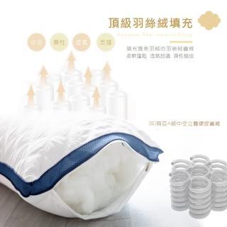 【JAROI】台灣製七星級飯店可水洗抗菌枕(二入)