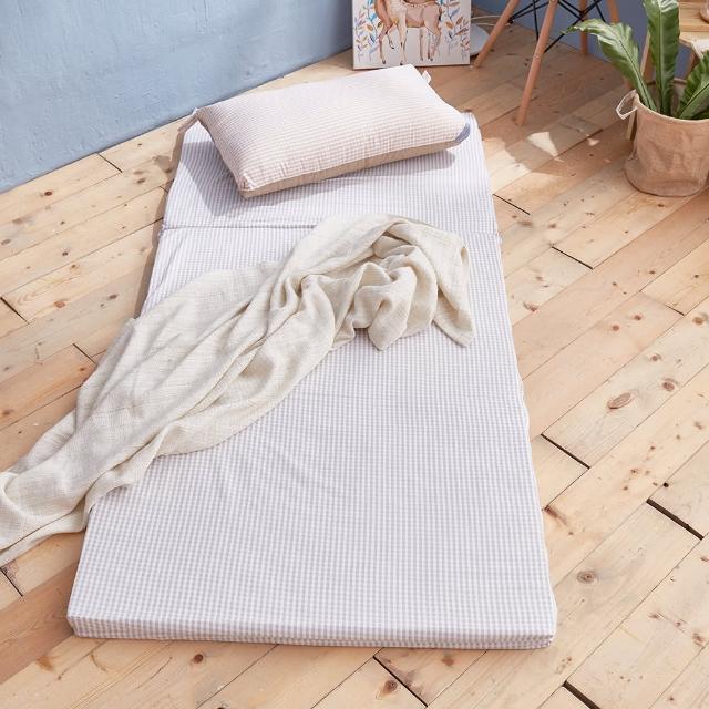 【戀家小舖】台灣製透氣收納床墊 單人尺寸(3色可選 銷售破萬件)