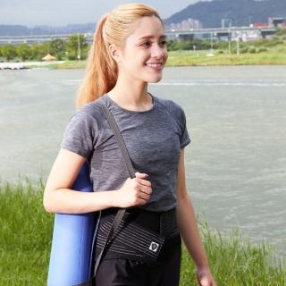 【Vital Salveo 紗比優】防護鍺可調式9吋護腰帶(大尺碼遠紅外線保暖護腰帶-台灣製造保健護具)